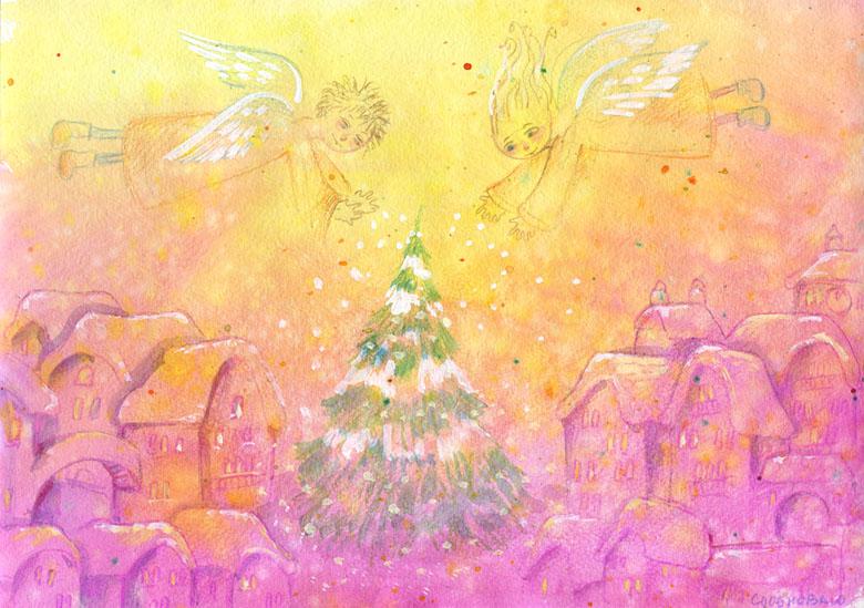Снег в подарок<br /> ---------<br />  (кликните по изображению, чтобы открыть его в полный экран)